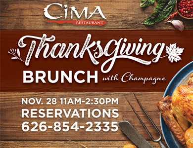 THANKSGIVING DAY GRAND BUFFET PROMOTION